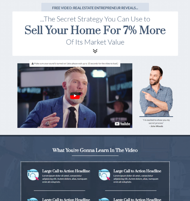 Sales Letter Funnel Template